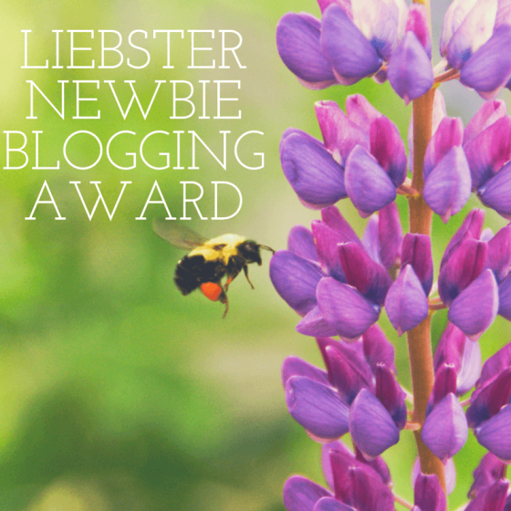 LIEBSTER NEWBIE BLOGGING AWARD
