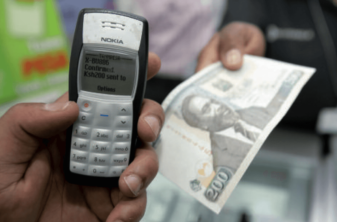 M-Pesa transaction