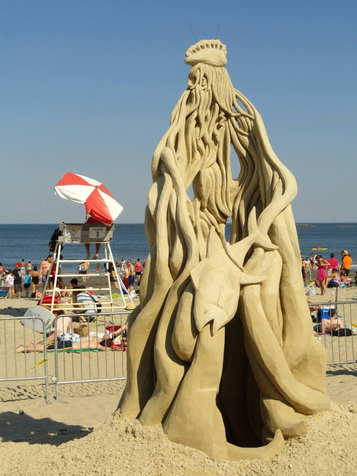 sand sculpting skills