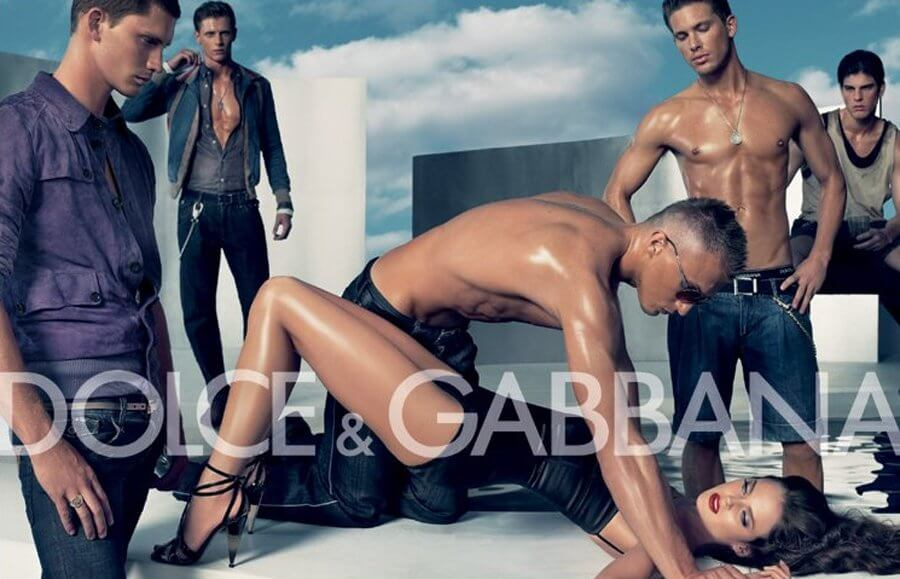 Dolce and Gabana ad