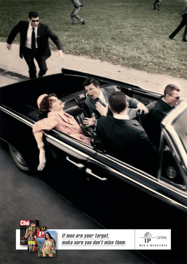 Kennedy assasination ad