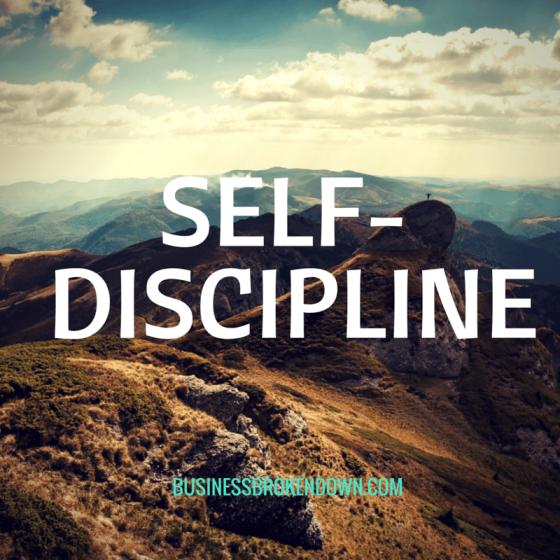 Self-Discpline